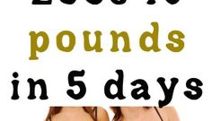How to Lose 10 pounds in 5 days
