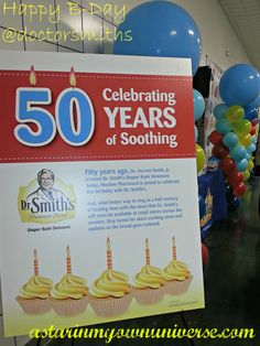So proud to celebrate this special day! Happy 50th Birthday to Dr. Smiths Diaper Rash Ointment. @Dr. Smith's #sweetrelief #premiumparent