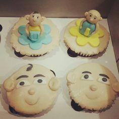 Upin ipin cupcakes