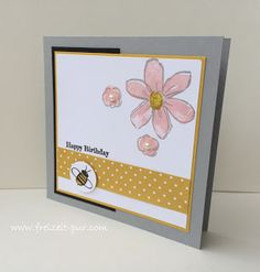 StampinUp! Garden in Bloom, Geburtstag