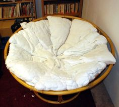 How to Make a Papasan Chair Cushion via wikiHow.com