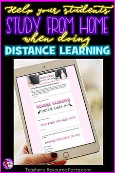 Teachers are being thrown in at the deep end with distance learning and are being asked to go remote in many cases and teach online. Free Teaching Resources, Teacher Resources, Teaching Ideas, First Year Teachers, New Teachers, English Exercises, High School Classroom, Guidance Lessons, Technology Integration