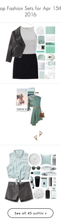 """""""Top Fashion Sets for Apr 15th, 2016"""" by polyvore ❤ liked on Polyvore featuring Uniqlo, Acne Studios, Topshop, Brinkhaus, Jigsaw, Surya, CB2, Orca, Williams-Sonoma and Byredo"""