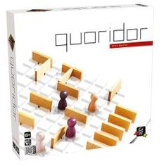 Gigamic Quoridor Classic Maze Strategy Game (Full Size)
