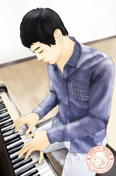 Micky Yoochun fanart.
