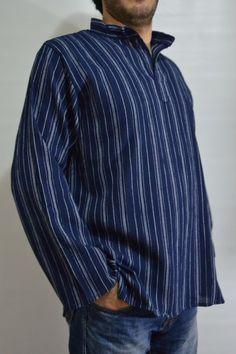 Medieval Historical shirt ottoman arabic ethnic sultan harem striped shirt  #Handmade #historical