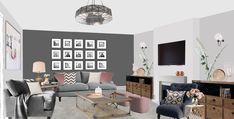 Visual of country classic lounge in house, Kent. Gallery Wall, Lounge, Country, Classic, Projects, Room, Home Decor, Style, Airport Lounge