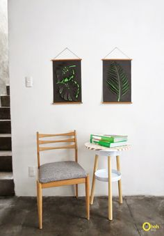DIY paper wall art | Ohoh Blog - diy and crafts