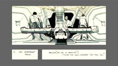 Capacitor Fantástico: Aliens Storyboards