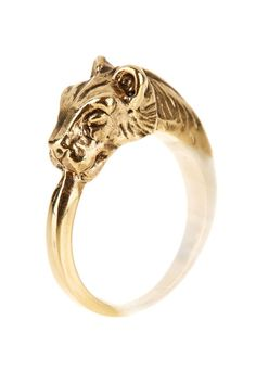 Tiger Ring. Simple and elegant. I love tigers.