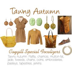 """""""Caygill Special Focalizers: Tawny Autumn"""" by expressingyourtruth on Polyvore"""