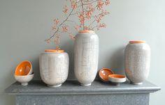 Ceramic pots from Domani