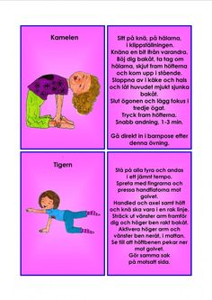 Yoga For Kids, Exercise For Kids, Massage, Yoga Meditation, Tips, Buxus, Massage Therapy, Counseling