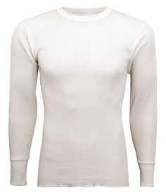 Indera - Mens King Size Long Sleeve Thermal Top, 800LS * For more information, visit now : Hiking clothes