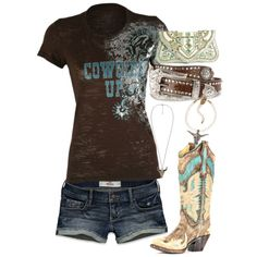 """""""let there be cowgirls"""" by hotcowboyfan on Polyvore"""