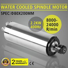Best price Water Cooled Spindle Motor Engraving CNC High Grind POPULAR GREAT spindle MOTOR - Click the pic for details! - best home appliances, best home appliances brands, home appliances, appliances for home Arduino Cnc, Diy Cnc Router, Car Hoist, Cnc Spindle, Hobby World, Hobby Cnc, Hobbies For Couples, Motor Speed, Water Cooling