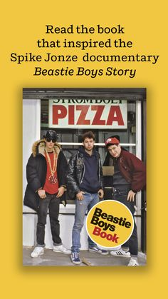 "BEASTIE BOYS BOOK is the inspiration for the Spike Jonze ""live documentary"" Beastie Boys Story, now streaming on Apple TV+ You will find rare photos, original illustrations, a cookbook by chef Roy Choi, a graphic novel, a map of Beastie Boys' New York, mixtape playlists, pieces by guest contributors, and many more surprises. Roy Choi, Good Books, My Books, Celebrity Couples, Celebrity News, Spike Jonze, Moving To Los Angeles, Presents For Boyfriend, Beastie Boys"