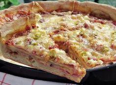 Hawaiian Pizza, Quiche, Bon Appetit, Toast, Chicago, Food And Drink, Breakfast, Buffy, Lamb