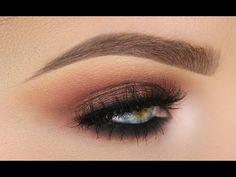 Soft Dusty Rose Smokey Eye   Morphe 35T - YouTube