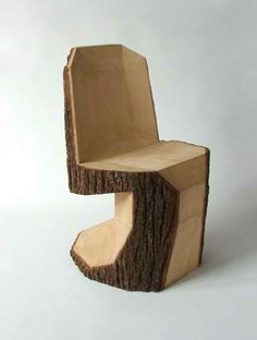 From Simple Tree Logs To Contemporary Dining Chairs, Modern Furniture Design