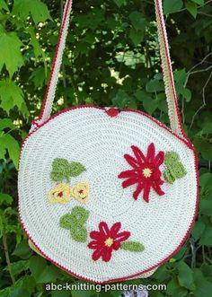 ABC Knitting Patterns - Crochet Summer Bag.
