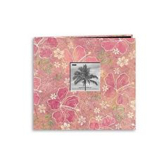 Tropical Post Bound Album With Window ($18) ❤ Liked On Polyvore Featuring  Home