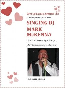 Mark McKenna DJ singer covering the Morecambe Lancaster area and beyond. Mark is popular with private party and theatre show audiences. Morecambe, Theatre Shows, Dj, Singing, Events, Entertaining, Party, Poster, Parties