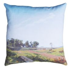 Landscape Cushion Cover 50x50, 38€, now featured on Fab.