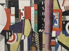 Fernand Léger, (French, Title The City 1919 Oil on canvas x cm The Museum of Modern Art Florene May Schoenborn Bequest Accession Number History Of Modern Art, Museum Of Modern Art, Chaim Soutine, Moma Collection, Chiaroscuro, Cubism, Art Google, Alter, Art Forms