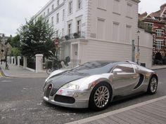 Bugatti 2007 EB Veyron 16.4 Pur Sang Arab plates