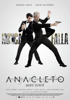 2015 ~ Anacleto: Agente secreto ~ VO. Sorprendentemente (o no tanto) ha aguantado en cartel. Tiene el mérito de hacernos reír profusamente con sus giros de un humor sutil. Soy fan de Imanol Arias y Alexandra Jiménez. Quim Gutiérrez bien.