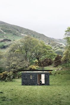 slate cabin