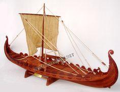 Model ship Oseberg