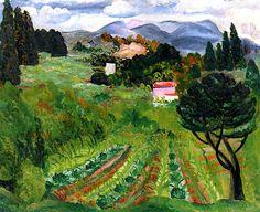 Provençal Landscape  Moise Kisling - 1918