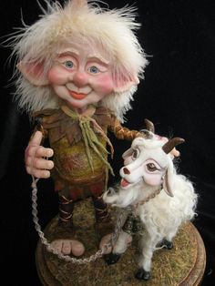 Gnoelf Art Doll by Mikey O'Connell Love love love adorably cute!