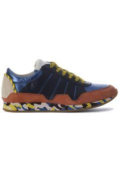Top Dolce & Gabbana Low top sneaker (blauw) Heren sneakers van het merk dolce & gabbana . Uitgevoerd in blauw.