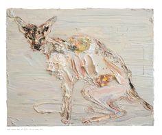 """Allison Schulnik """"Rhys Johnson Koh"""" 2011"""