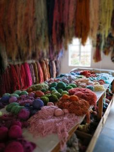 Mohair colours