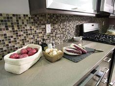 cocina con encimera de granito muy resistente