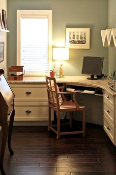Space Saving Ideas And Furniture Placement For Small Home Office Design    Many Small Office And Corner Desk Ideas