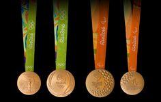 Rio 2016 apresenta as medalhas dos Jogos Olímpicos e Paralímpicos com inovações de design e sustentabilidade