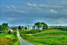 The Road to the Barn by Silos & Smokestacks National Heritage Area, via Flickr