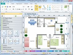 Nice Architecture Floor Plan Software With Some Tools And Some Colors Choices For Painting The Room Nice Design Creating A Floor Plan By Profe