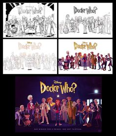 Doctor Who gets a Disney makeover from artist Stephen Byrne