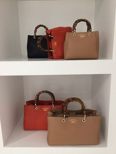 New Bamboo Bag by Gucci FW15-16
