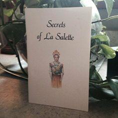 Secrets of La Salette | Used, Rare, Vintage and Out of Print Books - www.ValiumBlueBooks.com #Books