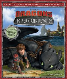 "Ever wonder what Hiccup writes in his notebook? In ""Dragons: To Berk and Beyond!"" you get a replica of Hiccup's map, and all his notes from his adventures!  Get your copy and start exploring today! http://bit.ly/ToBerkAndBeyond"