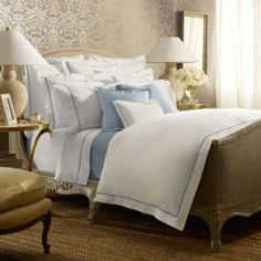 Oxford Blue Palmer Collection - Ralph Lauren Home Bedding Collections - RalphLauren.com