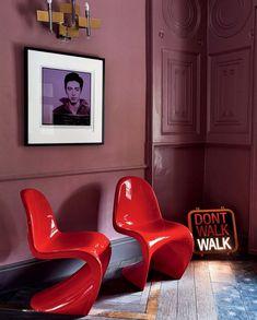 MADABOUT DESIGN — madabout-interior-design: Red Panton Chair