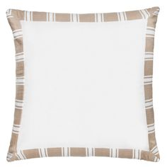 linen inka border pillowcase